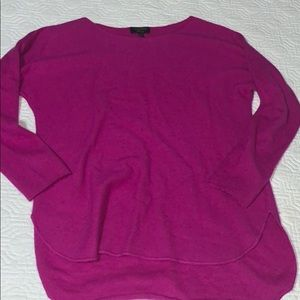 Cashmere scoop neck sweater size S